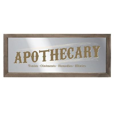 Apothecary Sign - Mirrored sign