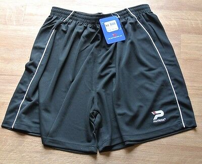 New Mens Patrick sports shorts Black XXXL