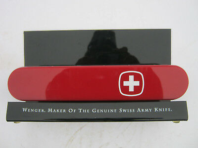 "Wenger Swiss Army Knife Watch Store Display 11"" Long Advertising"