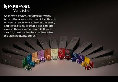 New original Nespresso Vertuo line coffee pods capsules -  20 30 50 - for Vertuo
