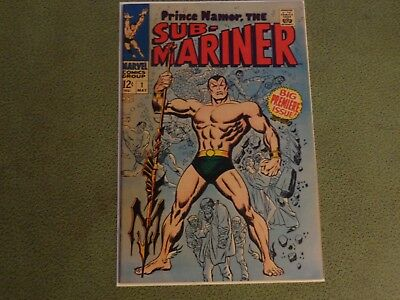 High Grade Sub Mariner 1 Marvel Comic Book 1968