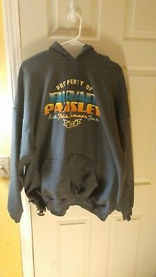 Property of Brad Paisley Beat This Summer Tour 2013  Hoodie size 2XL XXL
