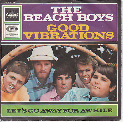 "THE BEACH BOYS // *Good Vibrations* // 7"" // German Picturesleeve!"