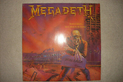 Megadeth ‎Peace Sells... But Who's Buying? Capitol Records  1986