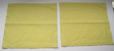 """Extra Heavy Pair of 14"""" Square Table Napkins or Placemats"""