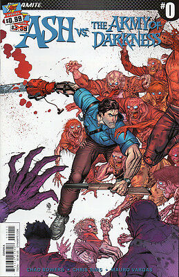 Ash vs. the Army of Darkness #0 Prelude / Dynamite / Evil Dead / Bruce Campbell