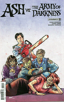 Ash vs. the Army of Darkness #2 / Dynamite / Bruce Campbell / Cover A NM 2017