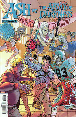 Ash vs. the Army of Darkness #3 / Dynamite / Bruce Campbell / Cover A NM Groovy