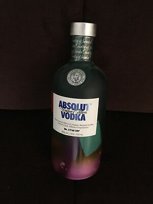 Absolut Vodka  Unique - Sammlerzustand - Full