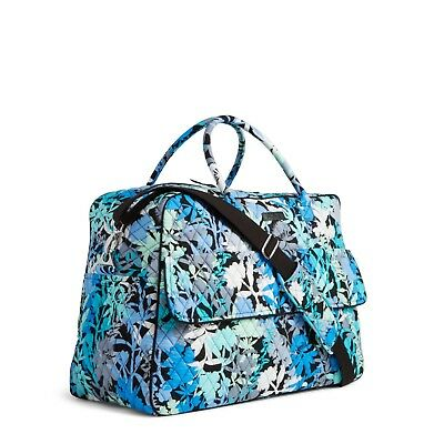 CAMOFLORAL Vera Bradley GRAND TRAVELER Carry-on Travel Luggage Overnight Bag NEW