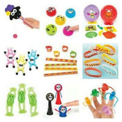 Boys Girls Childrens Pocket Money Party Birthday Gift Toy Prize Bag Fillers