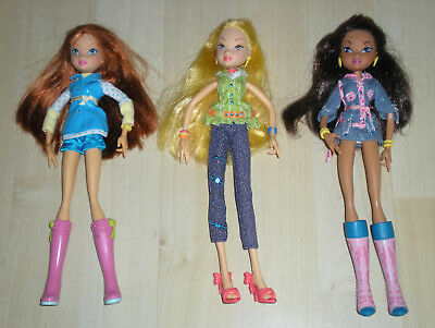 Winx Club Puppen, Dolls Bloom & Stella & Layla