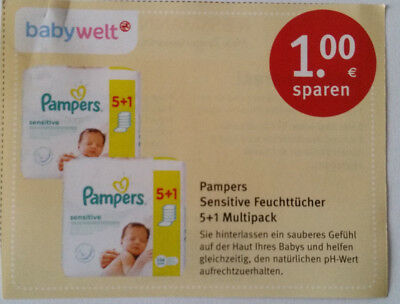 pampers coupon dm