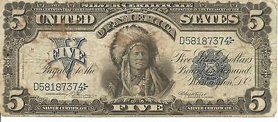 1899 Silver Certificate  Horse Blanket Very Good Condition