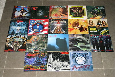 Power Speed Thrash Metal Sammlung 18 LPs Fifth Angel Griffin Omen Protector Hexx