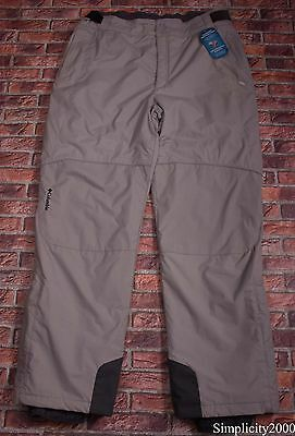 COLUMBIA Men Waterproof Breathable Skiing Snowboarding Trousers Size XXL