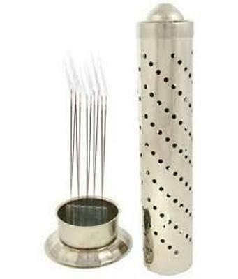 Extra Tall Stainless Steel Incense Agarbatti Stand Holder, Fragrance, Ideal gift