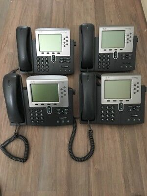 4x Cisco IP Phone 7962