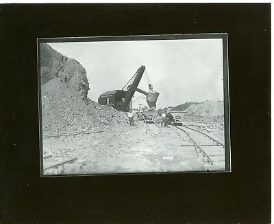 Vintage 8x10 Photo Marion  Shovel Model 36 Electric Alliance Clay