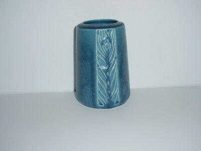 Rookwood Pottery Vase # 1902 Peacock Feather Date 1930
