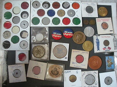 Mixed Tokens/Medals lot of 150