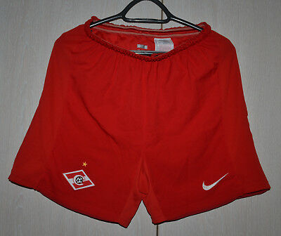 Spartak Moscow Russia  Worn Football Shorts Shirt Jersey Maglia Nike Size S