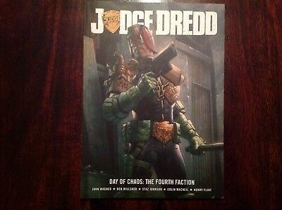 2000AD Judge Dredd Day of Chaos: The Fourth Faction Graphic Novel