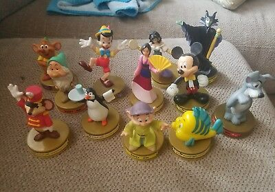 McDonalds Disney 100 Years of Magic Figures Lot of 12 VTG Toys 2002