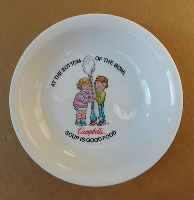 Campbell's Soup 16 Ounce Ceramic Soup Bowl Campbell's Soup is Good Food