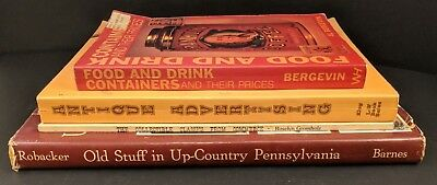 Lot of 4 Collectible Price Guides - Containers, Advertising, Commerce, Penns
