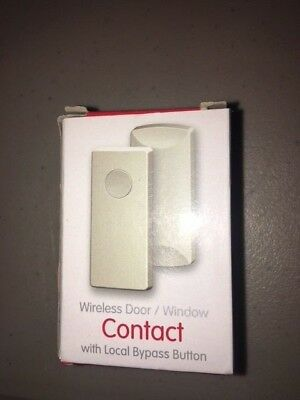 Window Contact w//Bypass Button Ecolink WST-212 Honeywell Ademco Wireless Door