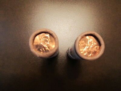 """2009 P&D LINCOLN CENT Uncirculated Mint Rolls - """"Formative Years"""" - LP-2"""