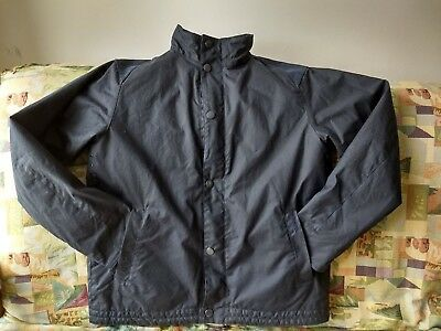 NWT Barbour Gillingham Land Rover Defender waxed cotton jacket Navy Medium
