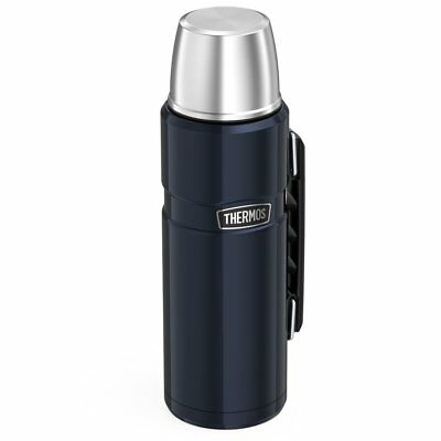 BRAND NEW Thermos Stainless King 40 Ounce Beverage Bottle, Midnight Blue