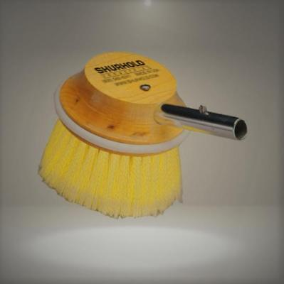 "Shurhold 50 5"" Round Brush with Soft Yellow Polystyrene Bristles"