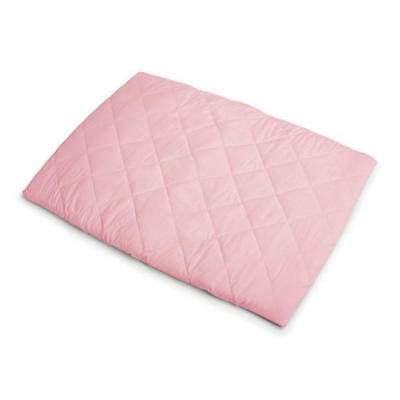 New Goldbug Quilted Travel Cot Padded Fitted Sheet Pink Free Express Shipping