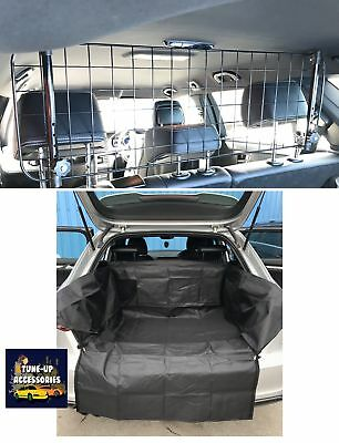 Mesh Dog Guard + Heavy Duty Boot Liner For Ford Fiesta Mk7 (11+)
