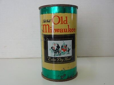 Old Milwaukee Flat Top Beer Can - IRTP