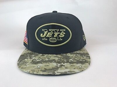 fe9affda NEW ERA 59FIFTY New York Jets Fitted Hat SZ 7 Salute To Service Camo ...