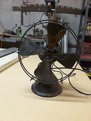 Antique MENOMINEE Cast Iron FAN ..TYPE 150..ORIGINAL.. RARE FIND.. works well