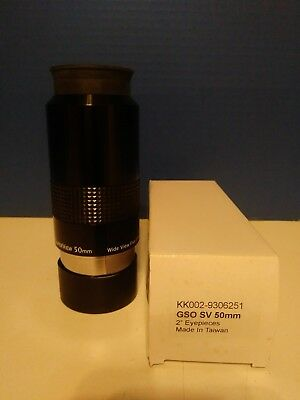 GSO SV 50mm SuperView Eyepiece for Telescope
