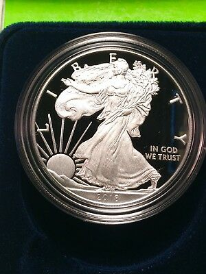 2018-W American Eagle Silver Dollar Proof in stock ready to ship