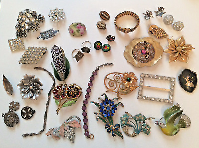 Fantastic Victorian,Vintage ,Antique Jewellery lot 1, wear, repair, resell