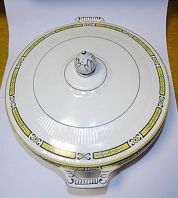 """Vintage 8"""" Covered China Dish by  Myott Son & Co. England"""