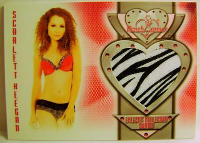 Scarlett Keegan Bench Warmer Authentic Swatch 2014 #32 Eclectic Collection Rare