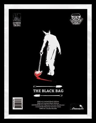 LCSD 2017 Sink Comix Tribe the Black Bag Local Comic Shop Day New Factory Sealed