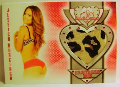 Jessica Burciaga Bench Warmer Authentic Swatch 2014 #6 Eclectic Collection Rare