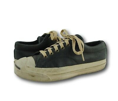 Vintage JACK PURCELL USA CONVERSE Green Leather Sneakers Shoes M 5 / W 6.5-7