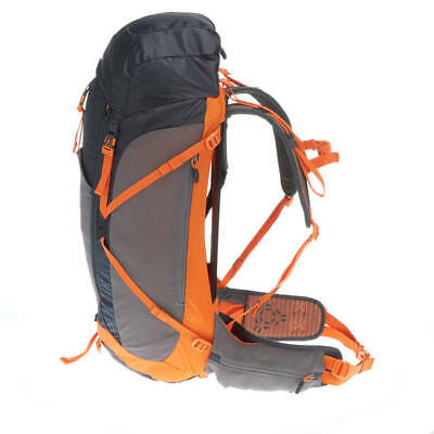 ba0304941d123 Decathlon QUECHUA Forclaz 40 Litre Air Backpack - Black Orange Free Shipping