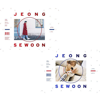 JEONG SEWOON [AFTER] 1st Mini Album Part.2 CD+POSTER+PBook+Booklet+Bromide+Card